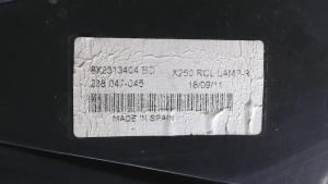 Fanale post. parte est. dx usato originale Jaguar XF 1à serie dal 2007 al 2015