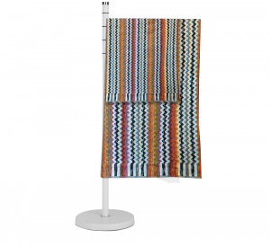 Missoni Home Set Asciugamano e ospite zig zag multicolore Paul 156