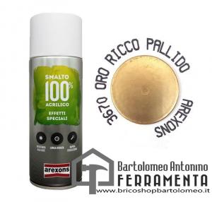Smalto Spray Bomboletta Oro Ricco pallido 3670