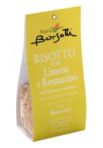 RISOTTO CON LIMONE E ROSMARINO