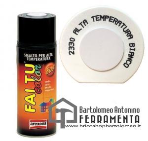 Smalto Spray Bomboletta alta temperatura bianco 2330