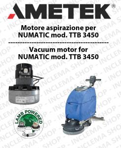 TTB 3450 motor de aspiración AMETEK fregadora NUMATIC