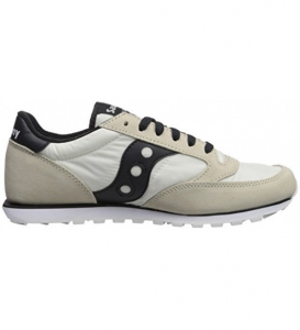 SAUCONY JAZZ LOWPRO WHITE/BLACK S2866-238
