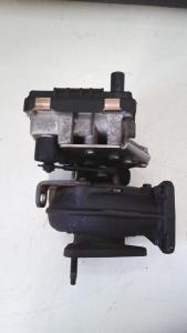 turbocompressore sx usato originale Jaguar XF 1à serie dal 2007 al 2015 2.7 D
