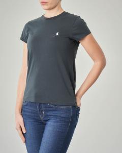 T-shirt nera manica corta