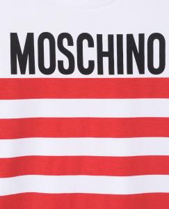 T-shirt Moschino righe