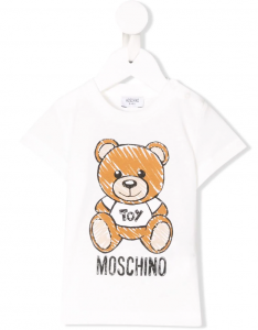 T-shirt Moschino Toy Bianco