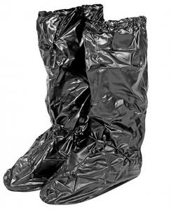 Copriscarpe impermeabili neri Taglia L 43-44 H50 cm.50h