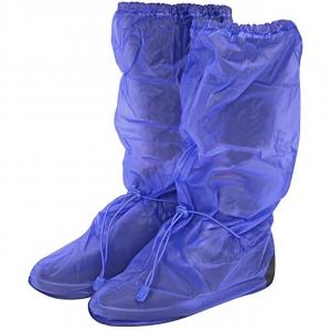 Copriscarpe impermeabili blu Taglia L 43-44 H50 cm.50h