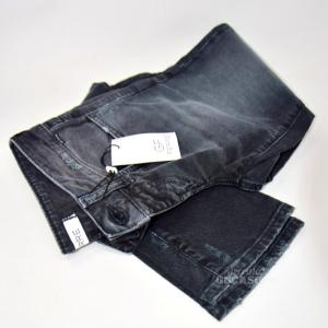 Jeans Donna Gf Ferrè Tg 40 Neri