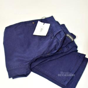 Pantaloni Donna Gf Ferrè Tg 40 Blu