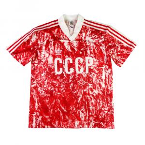 1989-91 Maglia Unione Sovietica Russia Cccp M (Top)