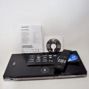 Lettore Dvd Sharp Blu-Ray Bd-hp90s Compreso Di Telecomando