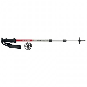 GABEL Woman trekking poles PIUMA Silver Red
