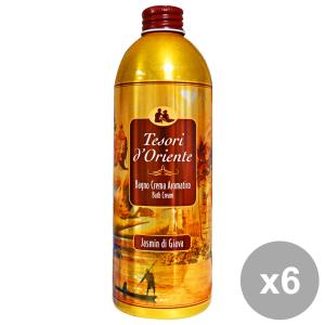 TESORI D'ORIENTE Set 6 Aromatic Bath Cream Jasmine Giava Body Care And Soap
