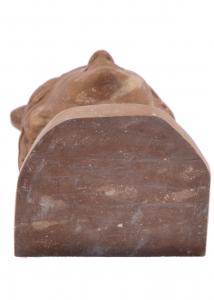 Sculpture Carved Head Marble Handmade Italian Craftsmanship