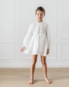 Vestito bianco babydoll