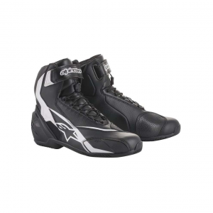 SCARPE MOTO ALPINESTARS SP-1 V2 SHOES BLACK WHITE COD 2511018