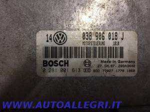 ECU CENTRALINA MOTORE VW GOLF IV BOSCH 0281001613 0 281 001 613