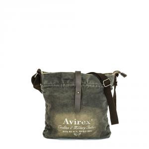 Avirex - 140506 - Borsa a tracolla unisex 1 scomparto verde militare cod. F