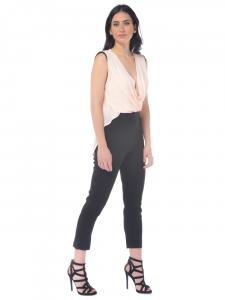 Tuta pantalone donna Elisabetta Franchi con punte nero 3fd51f4373b