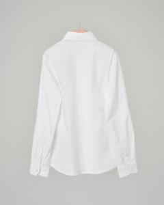 Camicia bianca con logo
