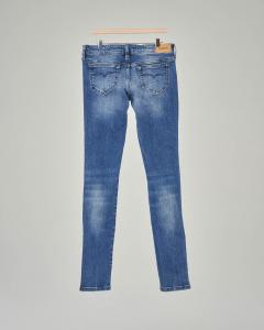Jeans Skinzee lavaggio stone wash