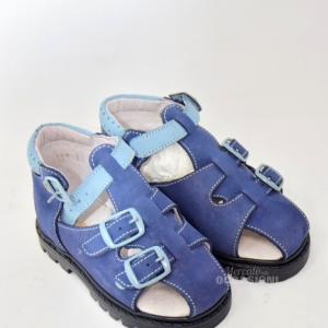 Sandalo Blu Bambino Sanagens N. 21