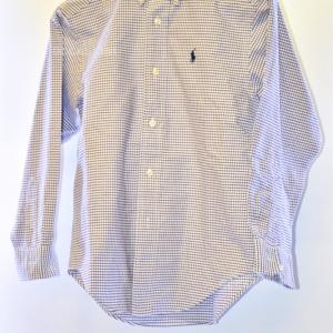 Camicia Bambino Polo Ralphlaurent Quadretti Anni 10