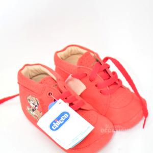 Scarpette Rossa Chicco Bambino N. 20