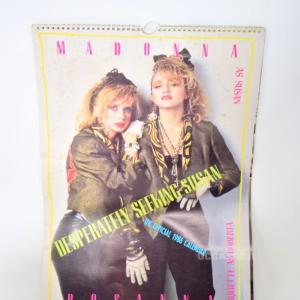 Calendario Di Madonna Del 1986