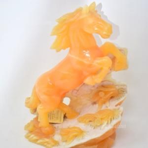Cavallo In Onice Arancione T