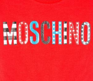 T-shirt Moschino Rosso