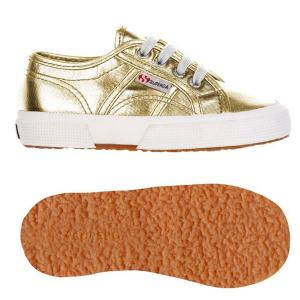 Scarpe oro con effetto metallizzato