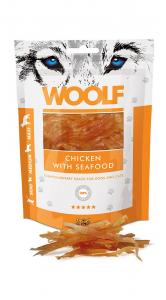 Snack cani-gatti woolf Pollo con frutti di mare