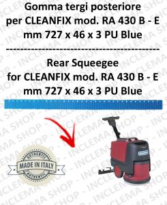 RA 430 B-E BAVETTE ARRIERE pour autolaveuses CLEANFIX