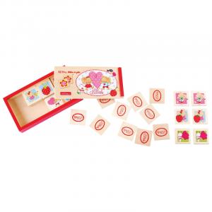 Lillebi il Topolino Memo memory in legno, giocattolo per bambini