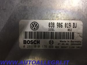 ECU CENTRALINA MOTORE VW PASSAT BOSCH 0281010176 0 281 010 176