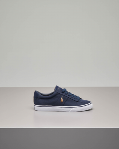 Sneakers Sayer blu in tela