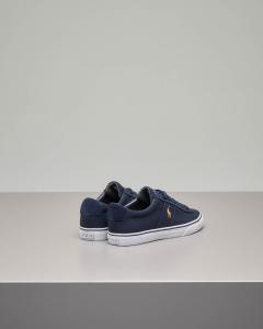 Sneakers Sayer blu in tela