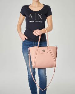 Shopping bag morbida rosa misura piccola