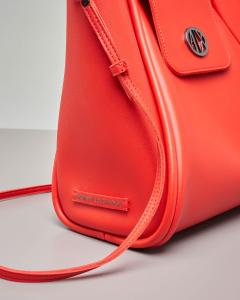 Shopping bag morbida rossa misura piccola