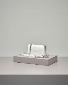 Mini Love Bag Idillio bianca in pelle