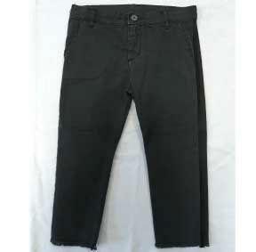 Pantalone grigio in tessuto