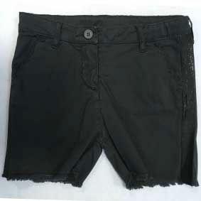 Pantaloncino grigio in tessuto