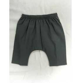 Pantalone grigio con vita elasticizzata
