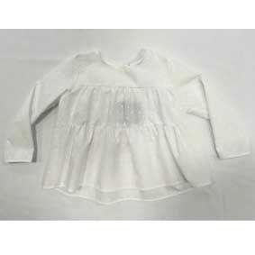 Camicia bianca larga