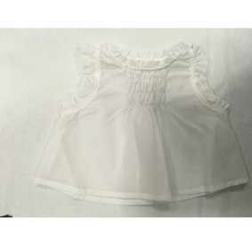 Camicia bianca in cotone larga