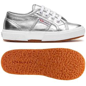 Scarpe argento con effetto metallizzato