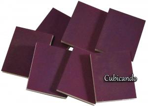 Opaque Purple Microfine sponge